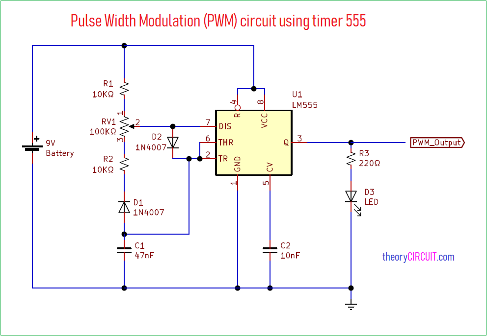 Pwm Wiring Diagram from theorycircuit.com