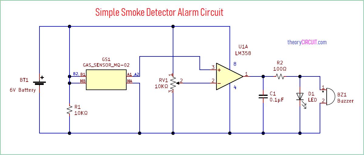 Fire Alarm Schematic Diagram
