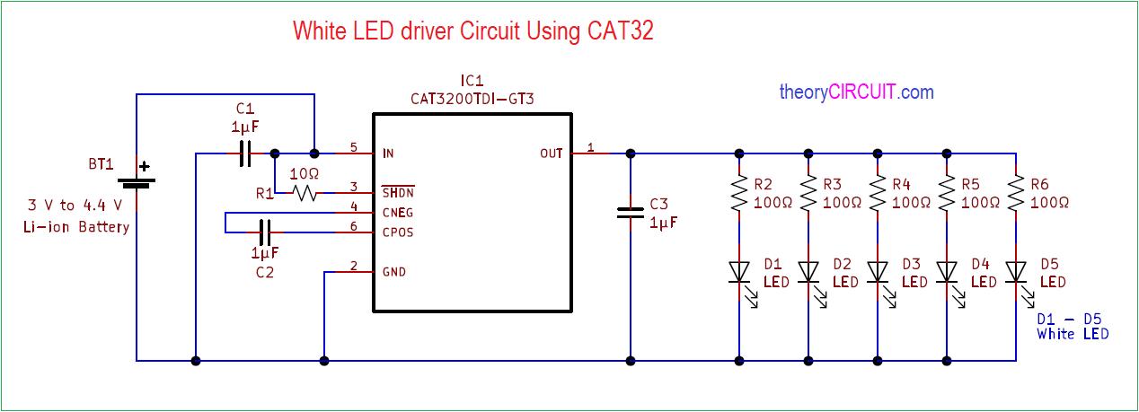 White Led Driver Circuit
